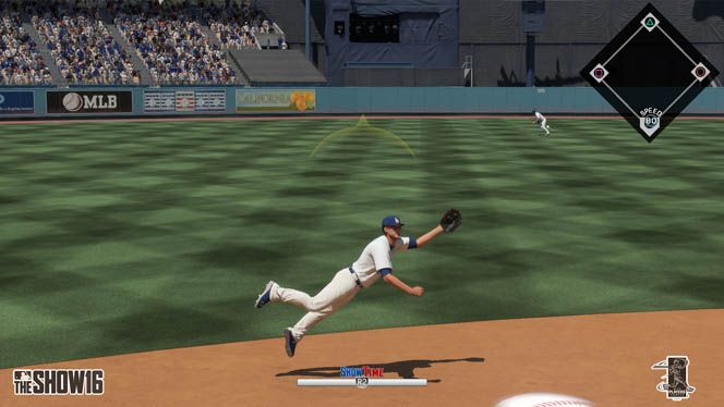 MLB The Show 16 Showtime dive catch