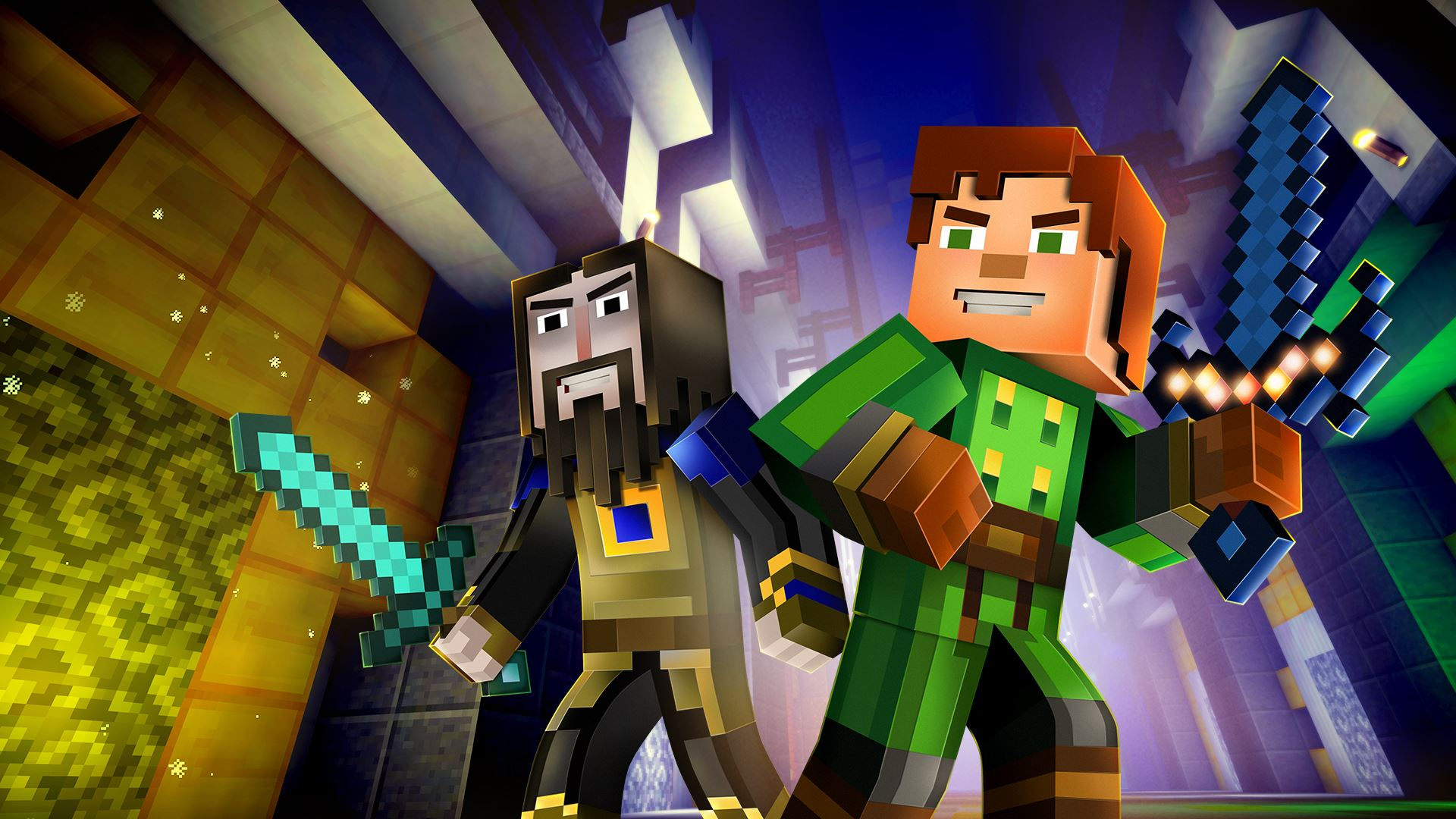 Minecraft Story Mode Episode 6 A Portal To Mystery Details And Cast Interviews Console Creatures