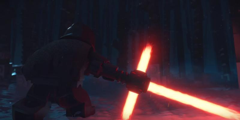 LEGO Star Wars Kylo Ren Header