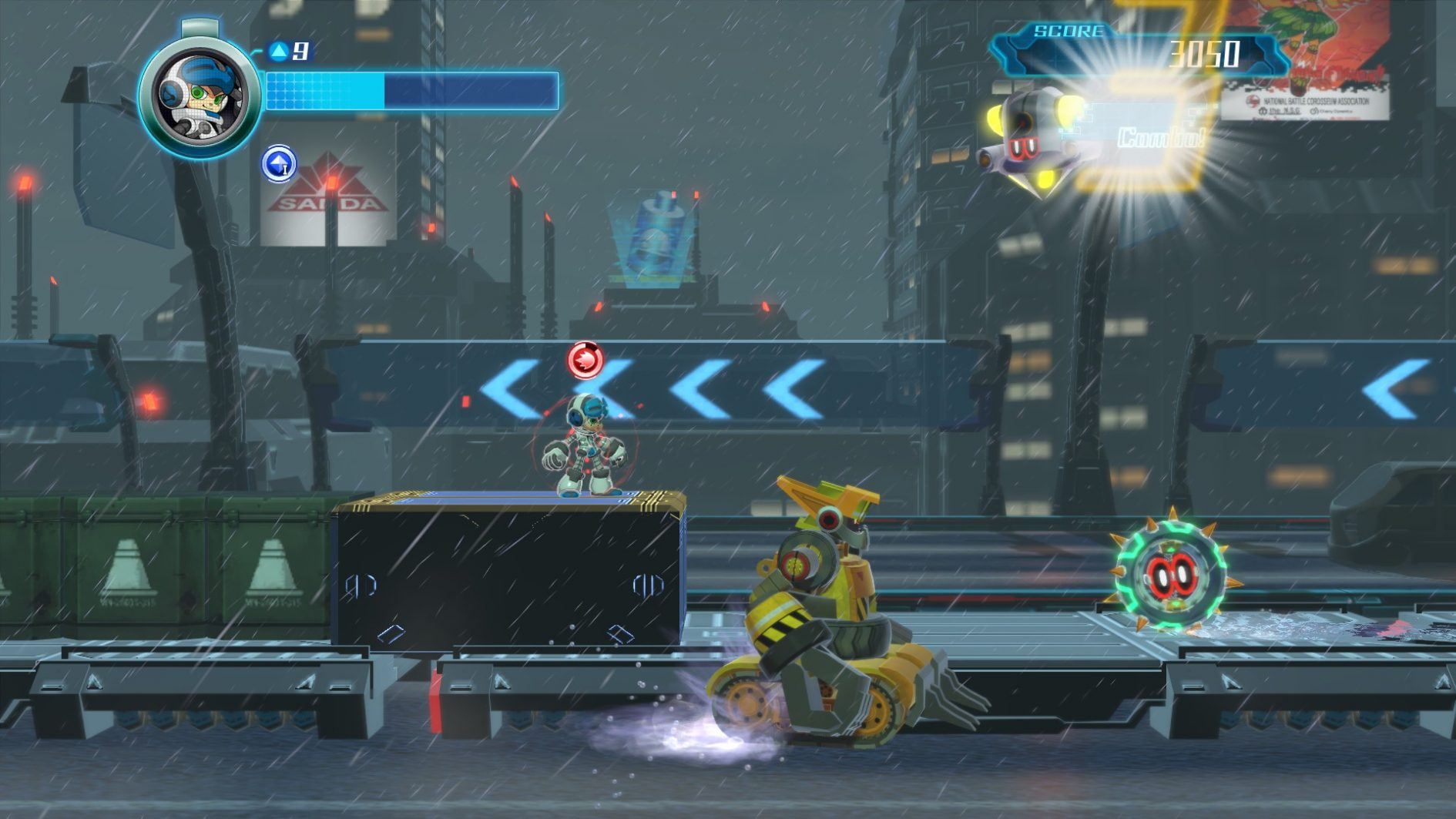 Mighty No. 9 Header
