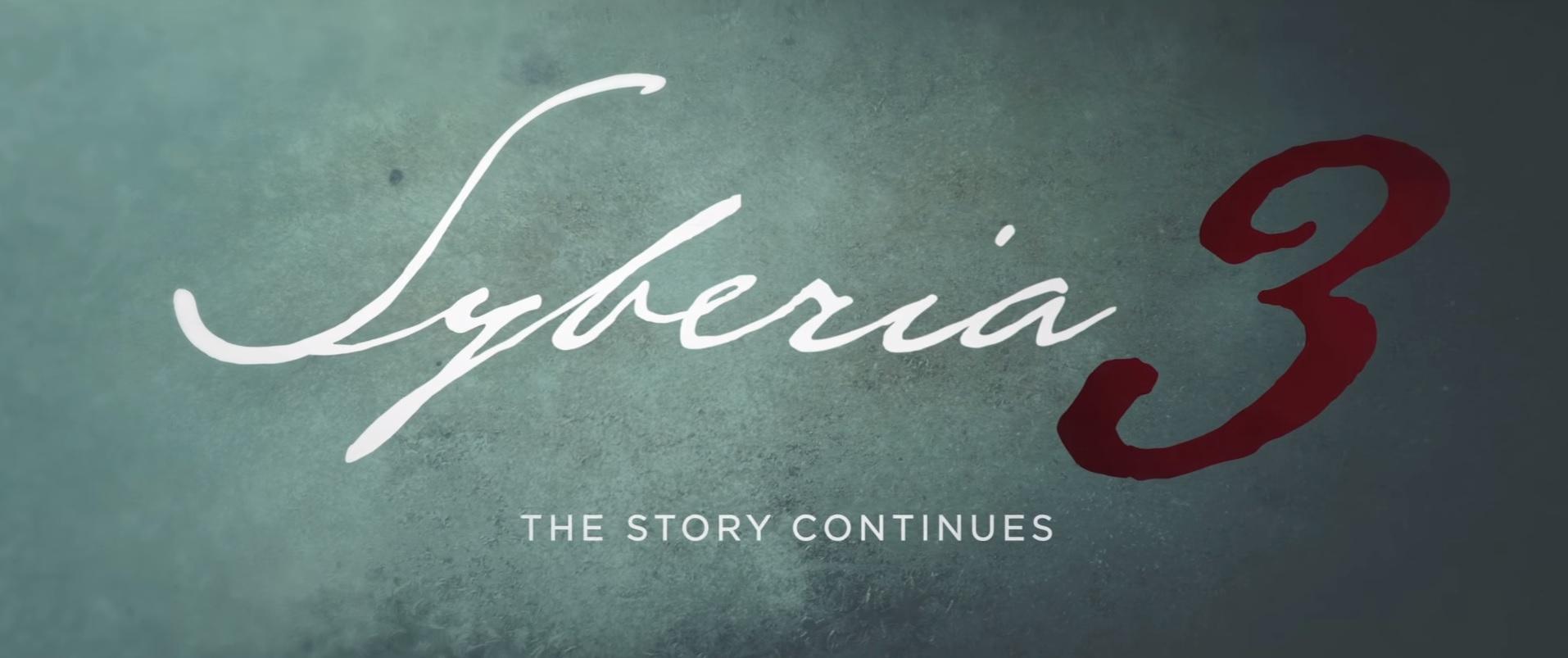 Syberia 3 Header