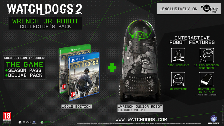 Watch Dogs 2 Collectors Edition