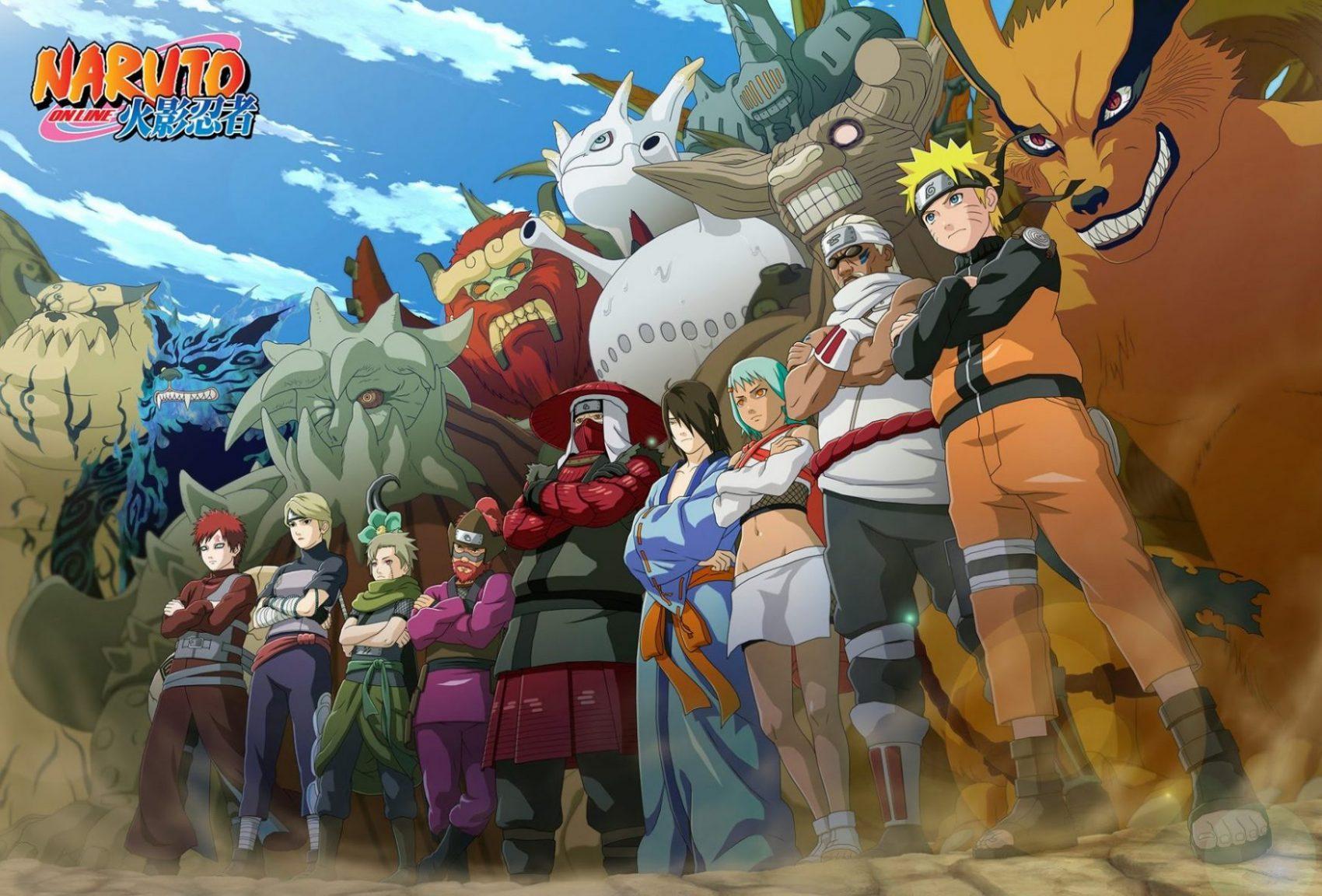 Naruto Online Header
