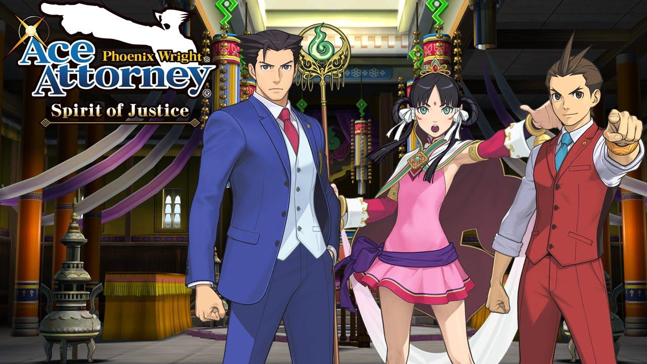Ace Attorney Header