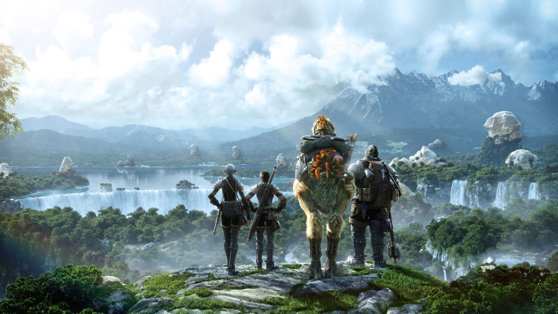 Final Fantasy XIV Header